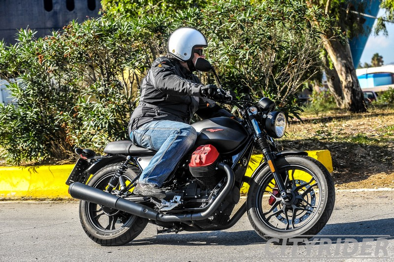 test moto guzzi v7 carbon city kinisi 4